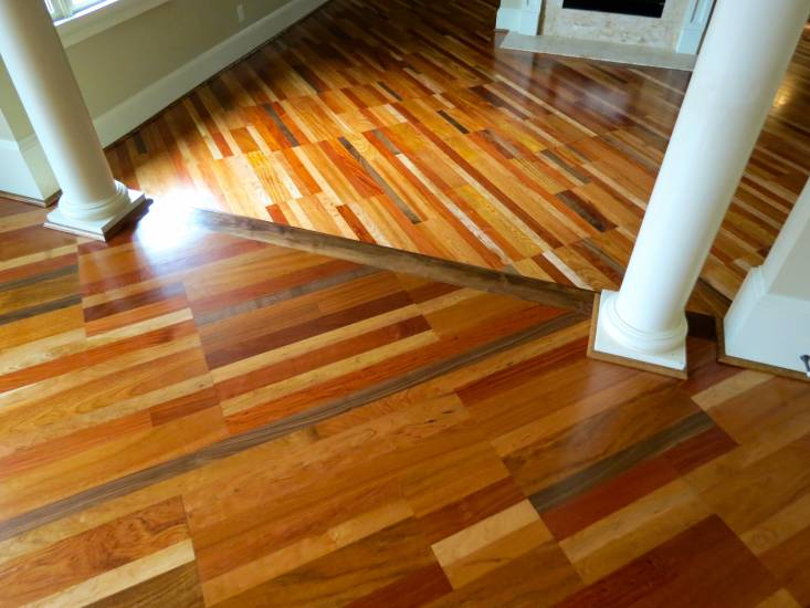 L 39 cologie le respect de l 39 environnement et de l 39 homme for Wood floor 45 degree angle