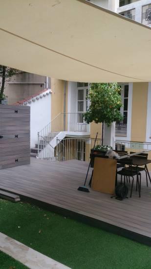 Construction sur mesure abri de jardin et terrasse 13008 pose de parquet marseille r novation - Terrasse et jardin marseille ...